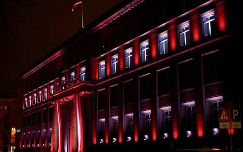 Латвия празднует столетие независимости.