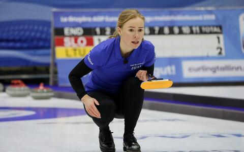 Eesti jääkeeglinaiskonna liige Erika Tuvike