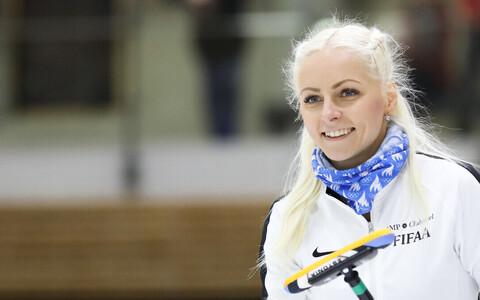 Eesti jääkeeglinaiskonna kapten Marie Turmann