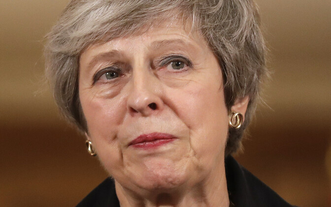 Briti peaminister Theresa May.