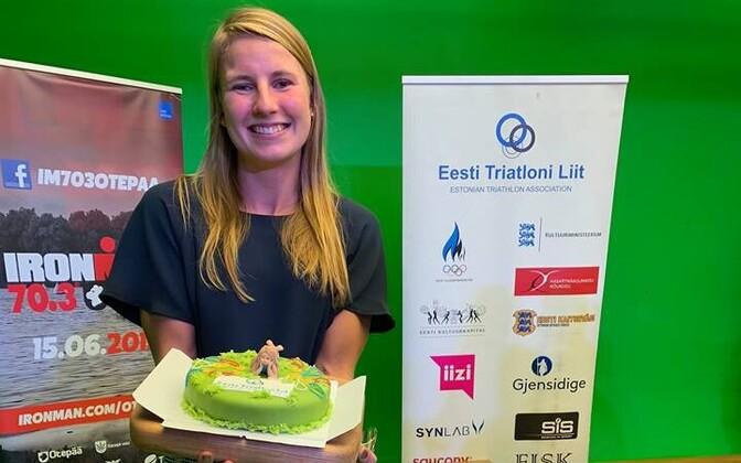 Kaidi Kivioja valiti seitsmendat aastat järjest Eesti parimaks naistriatleediks