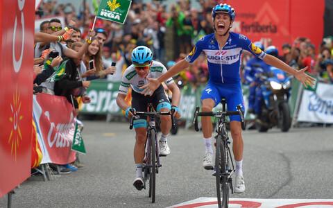 Enrice Mas võitis sel aastal Andorras lõppenud Vuelta etapi