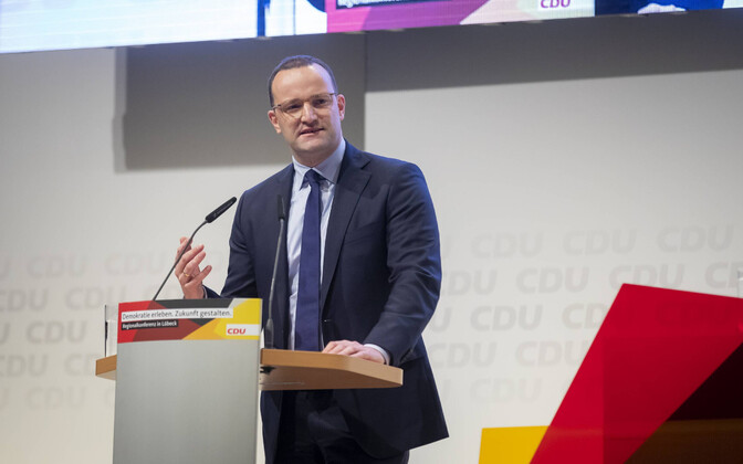 CDU juhiks pürgiv tervishoiuminister Jens Spahn.