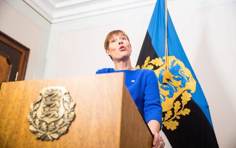 Керсти Кальюлайд сделала важное политическое заявление.