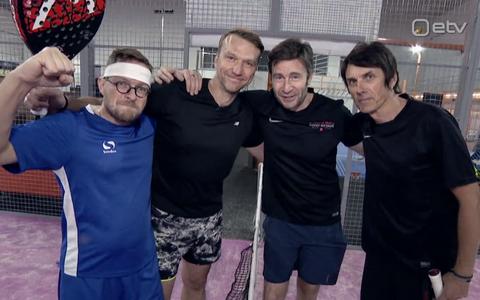 (Vasakult) Jüri Muttika, Hannes Hermaküla, Armin Kõomägi ja Hendrik Sal-Saller.