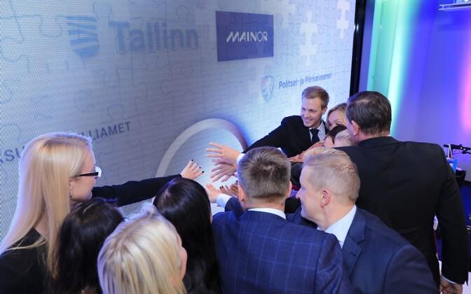 Открытие Международного дома в Таллинне.