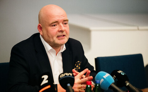 Министр внутренних дел Андрес Анвельт.