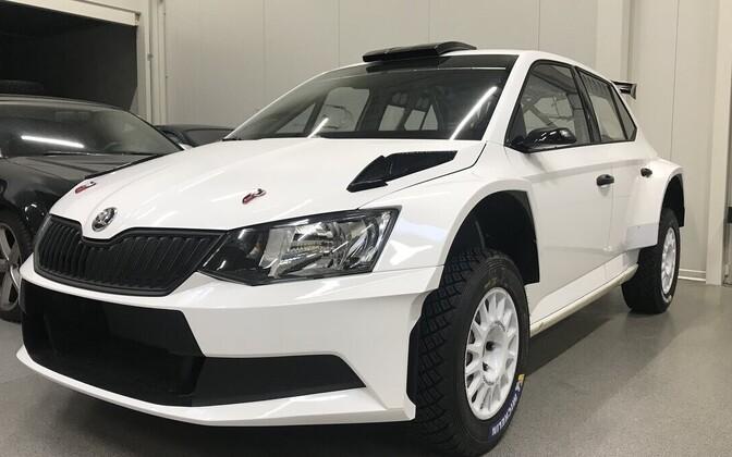 MM-Motorspordi Škoda Fabia R5