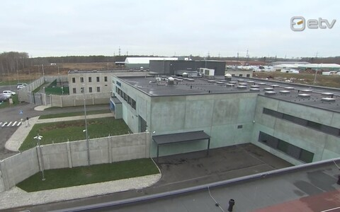 The new detention centre in Rae Municipality, just outside of Tallinn.