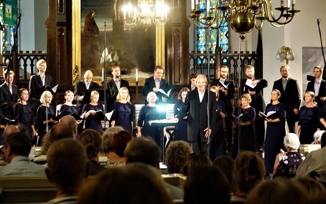 EFK ja Tõnu Kaljuste Europa Cantatil Jaani kirikus