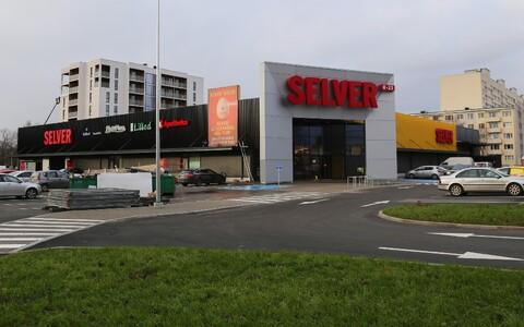 Магазин Selver на улице Сыле в Пыхья-Таллинне.