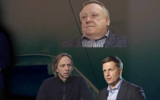 Vjatšeslav Leedo (üleval), Olav Miil (all vasakul) ja Richard Tomingas (all paremal).