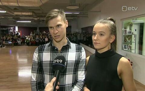 Konstantin Gorodilov ja Dominika Bergmannova
