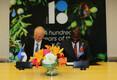 Eesti suursaadik ÜRO juures Sven Jürgenson ja eSwatini Kuningriigi suursaadik ÜRO juures Melusi Martin Masuku.
