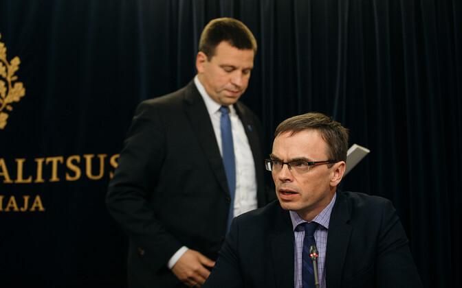 Sven Mikser ja Jüri Ratas.