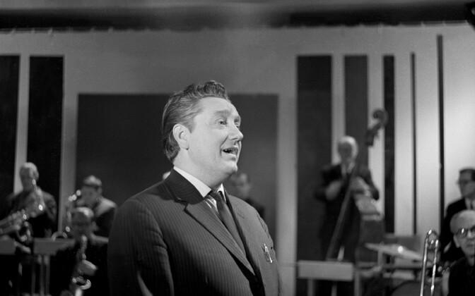 Laulja Kalmer Tennosaar. 1960ndad