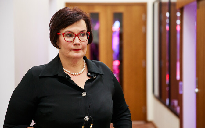 Minister of the Interior Katri Raik (SDE).