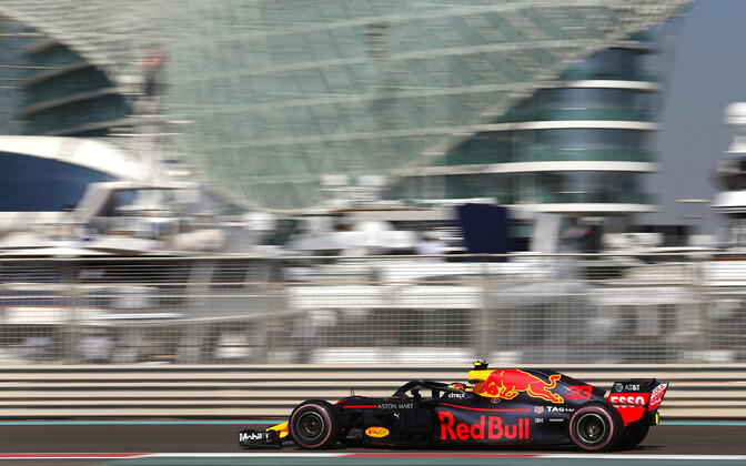 Max Verstappen Abu Dhabis