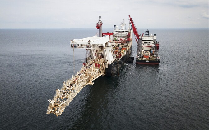 Nord Stream 2 rajamine.