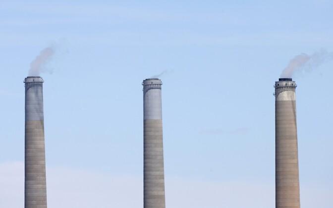 Kivisöe baasil töötav elektrijaam Utah' osariigis.