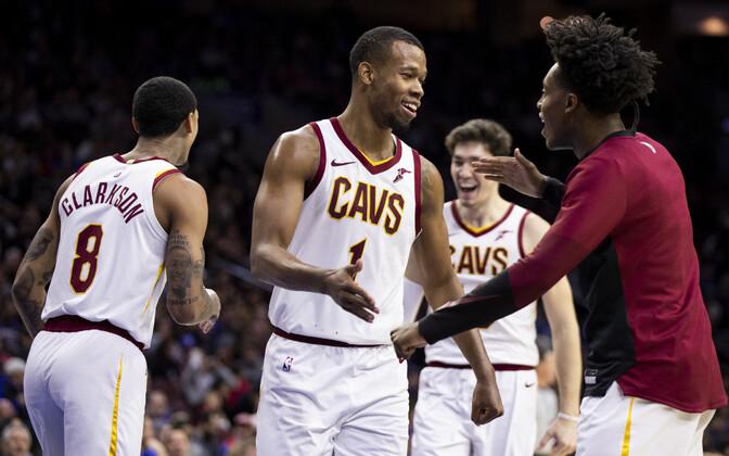 Cleveland Cavaliers lõpetas Philadelphia 76ersi 20-mängulise koduvõitude seeria