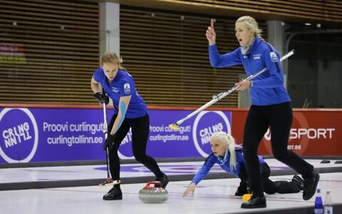 Eesti jääkeeglinaiskond kodusel EM-il