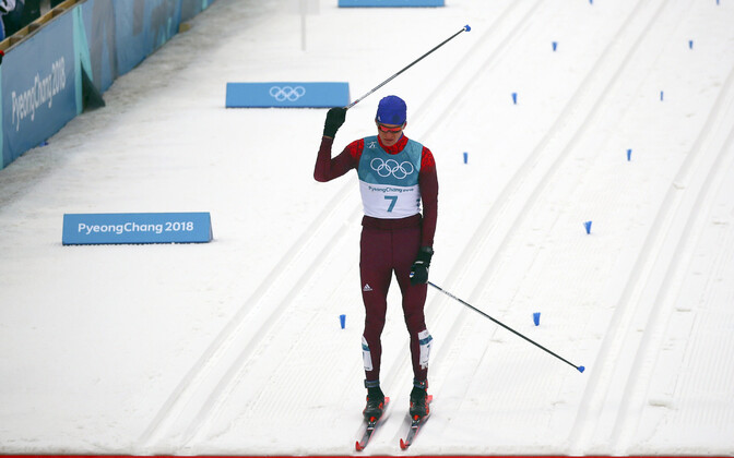 Aleksander Bolšunov PyeongChangi olümpial