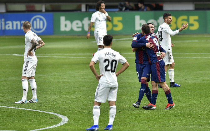 Eibar - Madridi Real