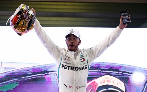 Lewis Hamilton võitis sel hooajal 11 MM-etappi