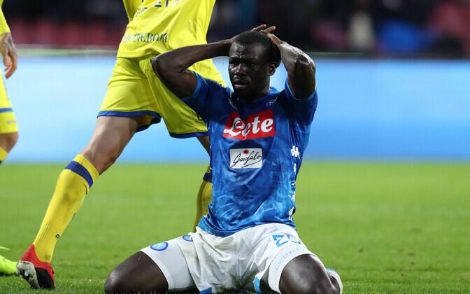 Napoli ei suutnud tabeli viimast võita