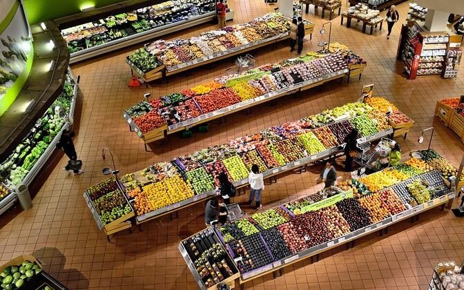 Супермаркет. Иллюстративная фотография