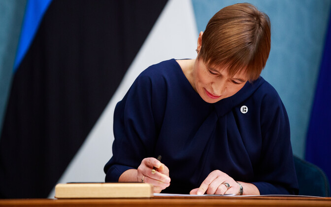 President Kersti Kaljulaid has already received greetings from heads of state, including Donald Trump, and King Carl XVI Gustaf  of Sweden,ahead of Sunday's independence day.