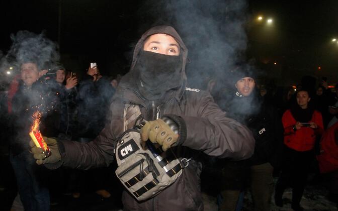 Митинг у посольства РФ в Киеве