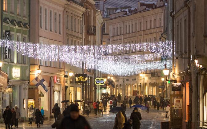Таллинн засияет праздничными огнями не позднее 30 ноября.