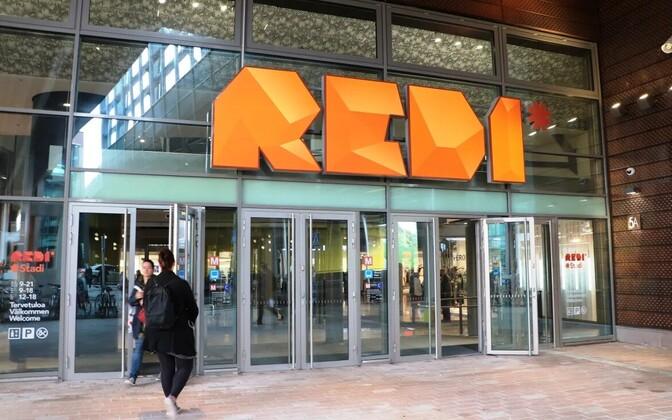 Helsingi kaubanduskeskus REDI.