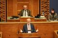 Обсуждение миграционного пакта ООН в Рийгикогу. Ханнес Хансо.