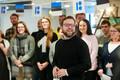 Eesti Filharmoonia Kammerkoor avas muusikanurga Tallinna Lennujaamas