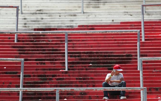 Fänn River Plate staadionil