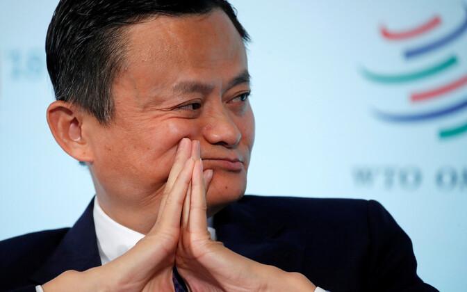 Основатель Alibaba Group Джек Ма.