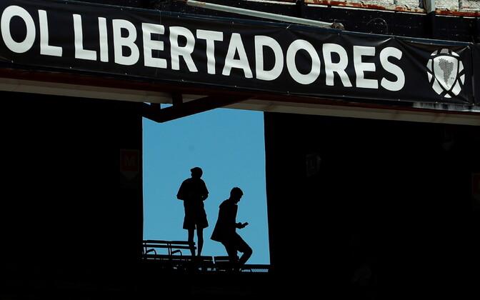 River Plate poolehoidjad El Monumentalil