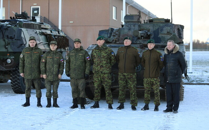 Россия регулярно проводит инспекции в Эстонии в рамках договора ОБСЕ.