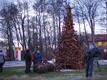 Рождественское дерево в Кярдла.