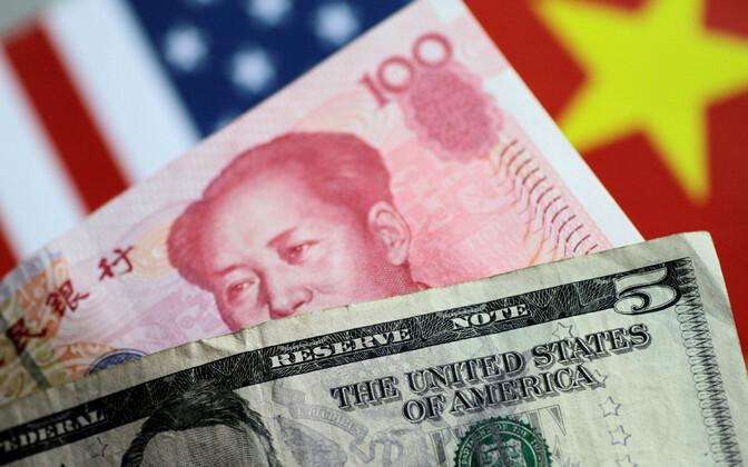 Dollarid ja jüaanid.