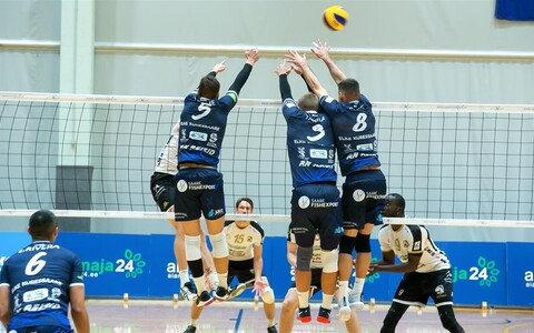 Saaremaa VK - Poitiers kohtumine CEV Challenge Cupi 1/16-finaalis