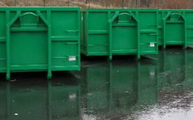Станция по приему отходов. Иллюстративная фотография.