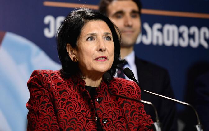 Новый президент Грузии Саломе Зурабишвили