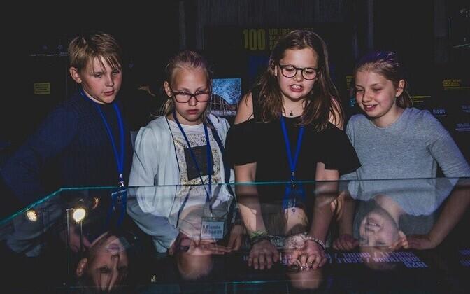 Lapsepõlve eksperdid Meremuuseumis.
