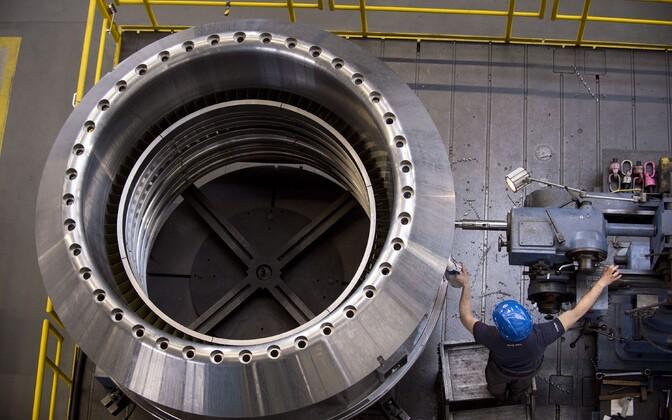 Siemensi gaasiturbiinide tehas.