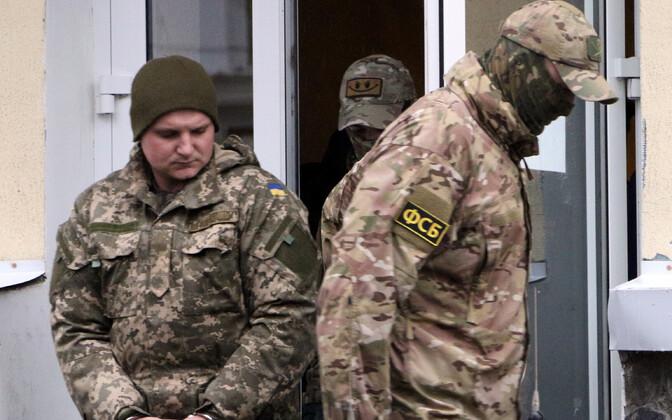 24 гражданина Украины - моряки, офицеры ВМС и СБУ арестованы до 25 января