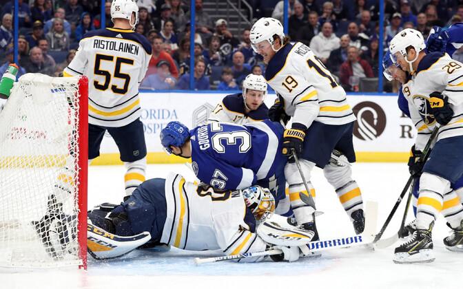 Buffalo Sabresi võituseeria katkes